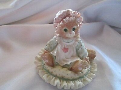 """Vintage Calico Kittens """" Just Thinking Of You""""  1992"""