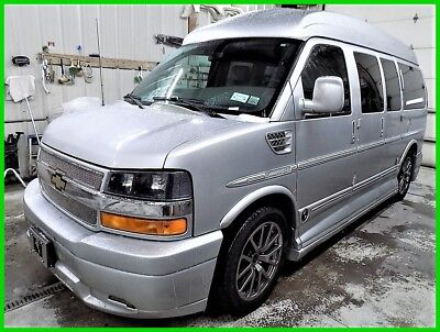 2014 Chevrolet Express Explorer Limited SE Conversion Passenger 2014 Chevrolet Chevy Conversion Van Explorer Limited SE GPS TV DVD Leather Bed