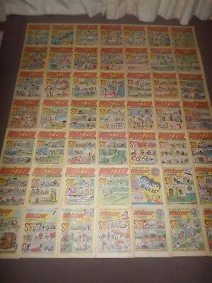 1974 WHIZZER & CHIPS Comics x 49