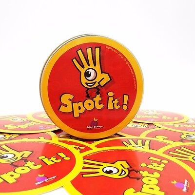 Newest spot it kids Game High Quality paper Dobble it for family game cards game