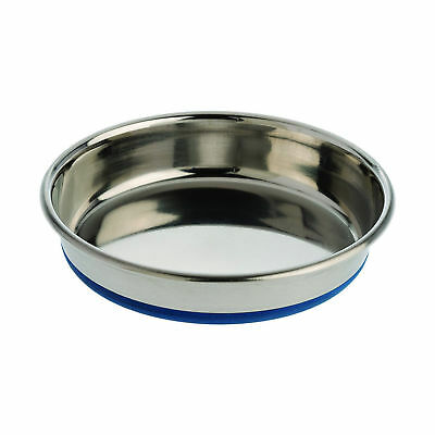 OurPets Durapet NO SKID Stainless Steel Food and Water CAT Bowl 8 ounce