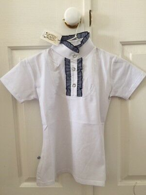 Peter Williams ruffle kids show shirt size 10