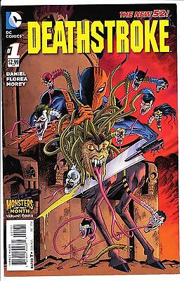 Deathstroke #1 Monsters Of The Month Medusa Variant Nm- 2011 New 52 Dc Comics