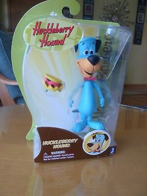"Hanna Barbera Huckleberry Hound 6""  Action Figure Toy - New in Box -Jazwares Inc"