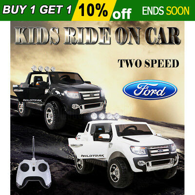 New Licensed Ford Ranger Electric Ride On Car Truck Childrens Toy Motorised