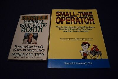 Pay Yourself What You're Worth by Shirley Hutton + Small Time Operator Kamoroff
