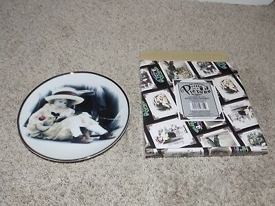 """Kim Anderson Pretty as a Picture """"Thinking of You Brings Sweet Memories"""" Plate"""
