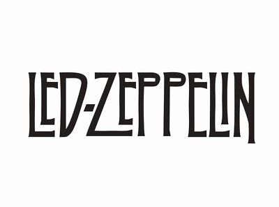 Led Zeppelin Music Band Die Cut Car Decal Sticker - FREE SHIPPING