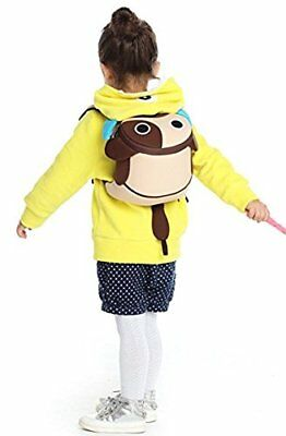 Beige Puppy Kids Toddler Backpack Cute Kindergarten Children Cartoon Schoolbags