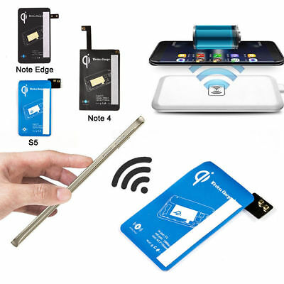 For Samsung Galaxy S5/Note Edge/Note 4 Qi Wireless Charging Receiver Kit Adapter