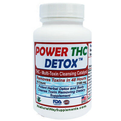 POWER THC DETOX - Multi - Toxin 2 Days To Cleanse Formula