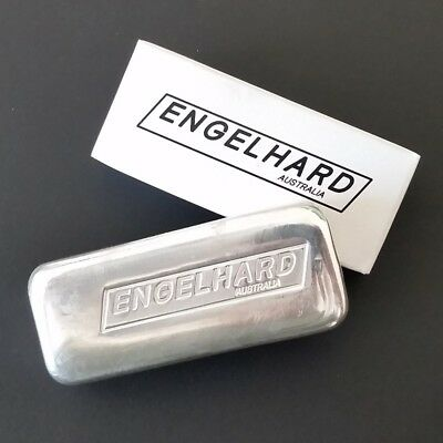 10 oz silver bar - Engelhard Australia New cast bar 99.9%