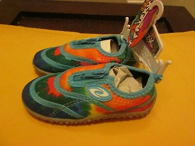 0a59a1d57f9f Frisky Kid s Water Shoes Aqua Blue Multi Color New No Box Size 8