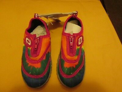 3735989c2928 Frisky Kid s Water Shoes Pink Multi Color New No Box Size 8