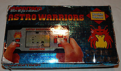 *vintage Astro Warriors Lcd Large Handheld Game By Grandstand In Box/boxed*/g&w