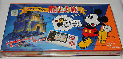 Vintage Epoch Mickey/minnie Mouse Haunted Mansion Lcd Handheld Game In Box/boxed
