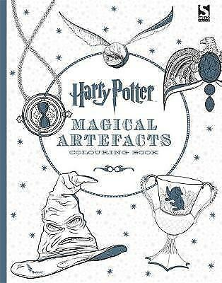 Harry Potter Magical Artefacts Colouring Book 4 BRAND NEW BOOK (Paperback, 2016)