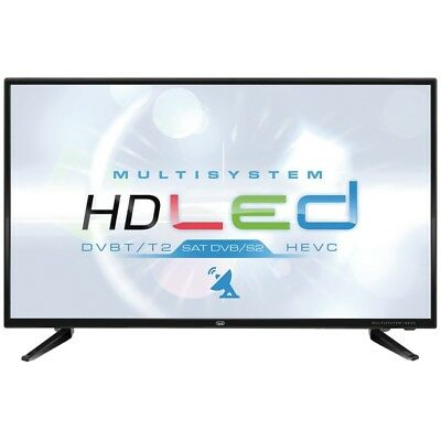 "Televisore 32"" Led Hd Sat Tv Dvbt-t2 Nero"