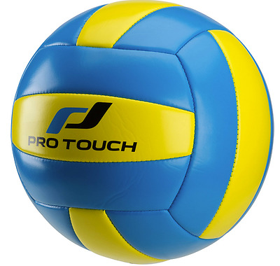 Pro Touch Soft Volleyball  - Freizeit-Volleyball - Gelb-Blau - Size 5 - 240418