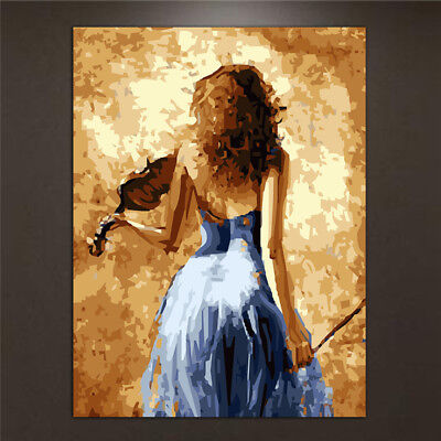 Beauty Oil Painting By Numbers Acrylic Drawing On Canvas DIY Home Office Decor