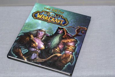 WORLD OF WARCRAFT Artbook Blizzard Games , englisch - english