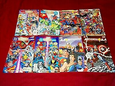 JLA AVENGERS 1 2 3 DC vs MARVEL 2 4 ALL ACCESS 1 2 3 4 UNLIMITED 1 -4 11 TIE-INS
