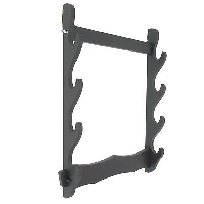4 Tier Sword Mount Display Stand Rack Hanger Holder for Katana Wakizashi Tanto