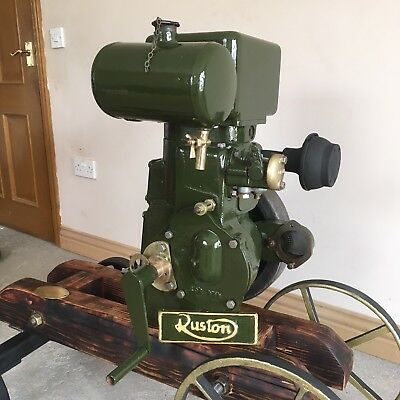 Ruston Hornsby PT 1000rpm Stationary Engine