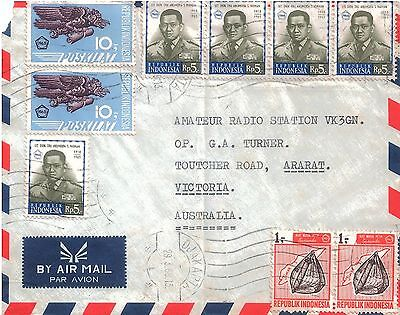 INDONESIA - 1969 Airmail Cover to Australia