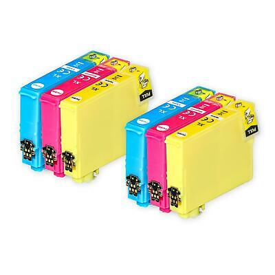 6 C/M/Y Ink Cartridges XL for Epson Expression Home XP-247 XP-335 XP-355 XP-445