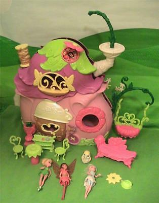 Disney Tinkerbell Fairies Ultimate Fairy House Pixie Cottage Playset