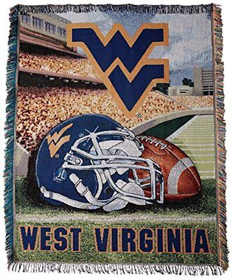 Officially Licensed NCAA West Virginia Mountaineers Home Field Advantage Woven T