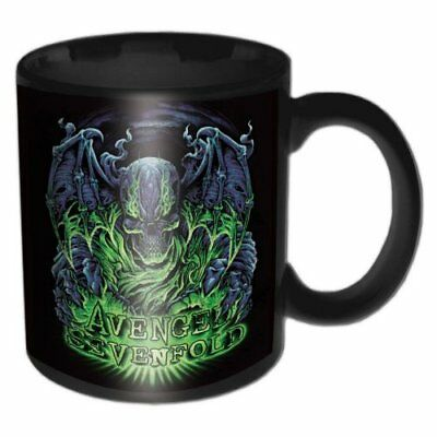 Avenged Sevenfold Boxed Standard Black Mug Dare to Die Tea Coffee Cup Official