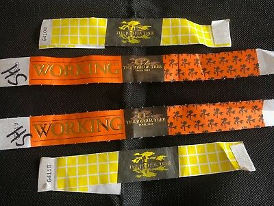 U2 - Foil Embossed - Crew - Pass - Joshua Tree Tour 2017 - One Pair