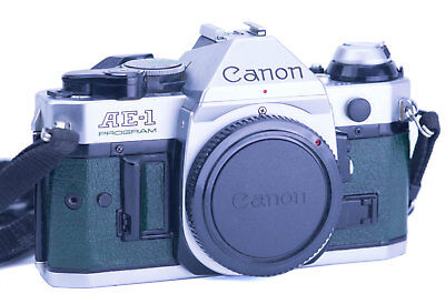 Canon AE-1 Program Replacement Cover - Recycled Leather