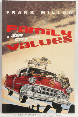 Family Values A SIN CITY Yarn Frank Miller Graphic Novel Comic Titan Books