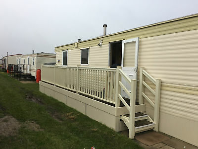 8 Berth 3 Bed Caravan For To Let Hire Rent Sealands Ingoldmells Skegness