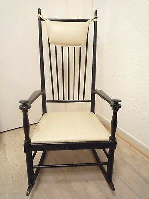 Chesterfield schaukelstuhl eur 195 00 picclick de for Rocking chair schaukelstuhl
