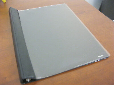 """Demco Magazine Binder Covers - 12.5"""" H - Brand New - Black back, Clear front"""