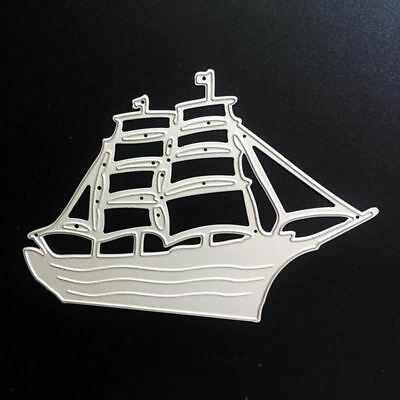 Ship Metal Cutting Dies For Scrapbooking Stencils DIY Album Cards Decoration Emb