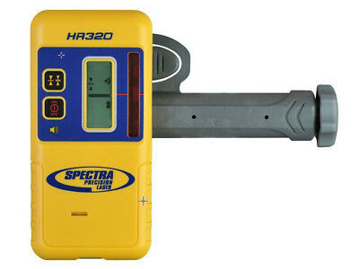 NEW Spectra Precision HR320 Laser Detector w/C59 Rod Clamp (Authorized Dealer)