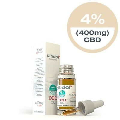 Cibdol CBD Tropfen 4% 10ml 400mg in Olivenöl CO2-extrahiert (343,00€/100ml)