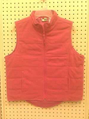 New - Woman's Winter Vest - H. Deep Pink -  Large 14/16 - Ladies - Very Soft