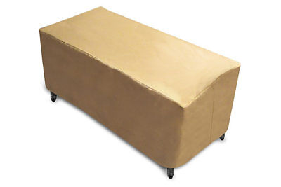 Fire Pit Patio Furniture Cover | Waterproof Outdoor Protection | Rectangular