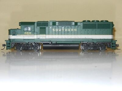 Athearn Powered Gp40 Southern Engine Locomotive Ho Scale Excellent