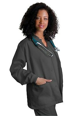 Adar Universal Round Neck Warm-Up Scrub Jacket (Available in 39 colors)