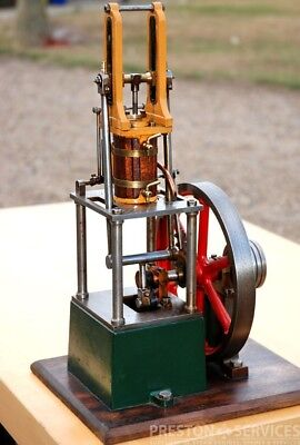 Steam Engine Driven Model - James Coombe