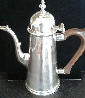 A Very Fine Georgian Silver Coffee Pot London 1722
