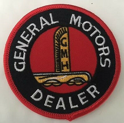 Embroidered  cloth patch ~GMH General Motors Dealer ~      C010303 -
