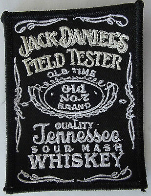 Field tester embroidered cloth cloth patch.   A020203